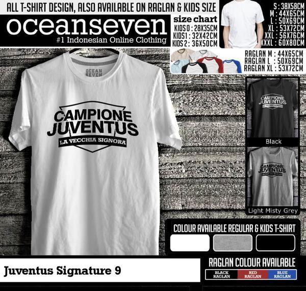 Kaos Distro | KAOS Juventus Signature 9