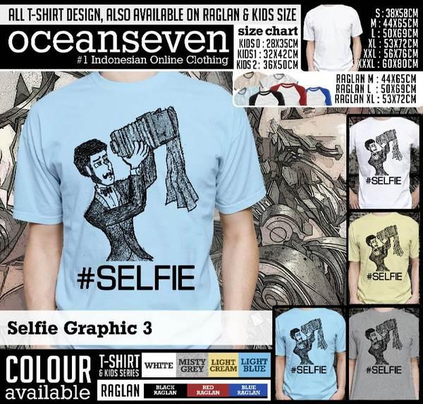 Kaos Distro | KAOS Selfie Graphic 3
