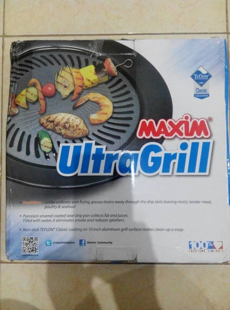 Harga Maxim Ultra Grill 25cm Rp 110000 Baru Previousnext