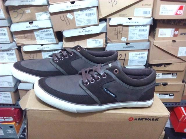 Sepatu casual original AIRWALK CRAIG - dark brown
