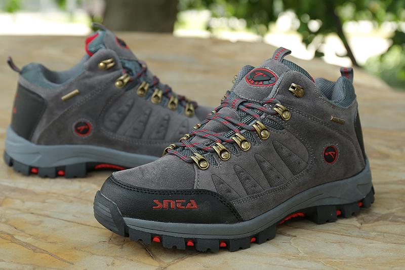 Jual Sepatu Gunung Hiking Boot Outdoor Waterproof SNTA 470
