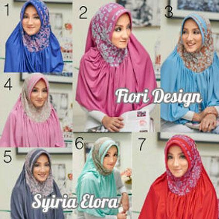 Hijab/Jilbab Fiori Syiria Elora