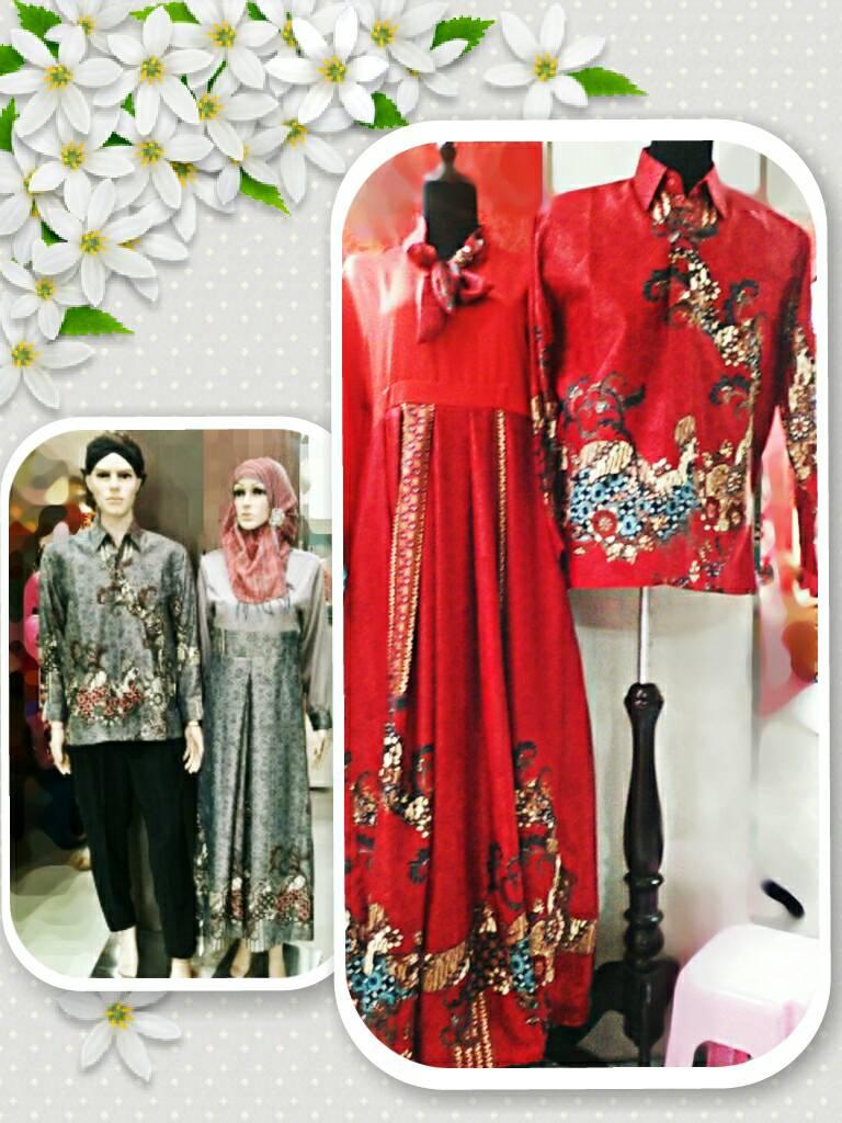 Jual Batik Couple Baju Couple Gamis Batik Kemeja Batik