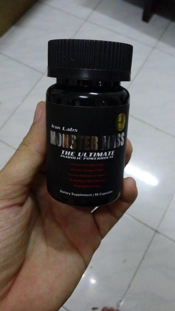 Jual iron labs monster mass tab king supplement