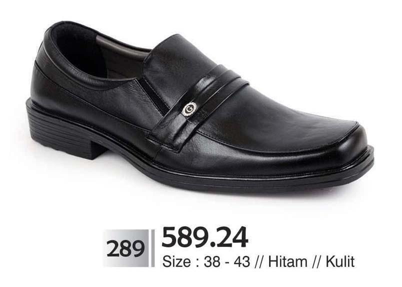 Jual sepatu pria kulit formal kerja kantor pesta lapangan pentofel ...