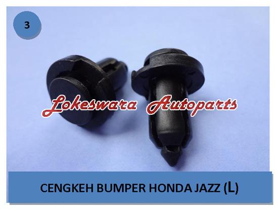 Klip Bemper Grill - Honda Jazz - City