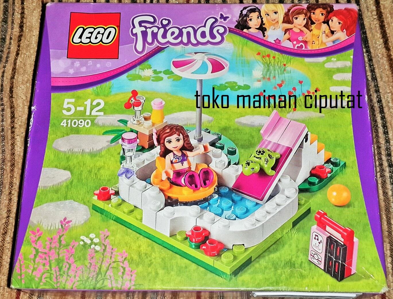 Jual Lego 41090 Friends Olivia 39 S Garden Pool Toko