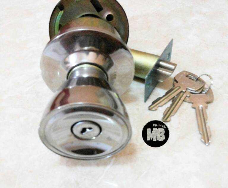 Kunci Pintu PVC / Kamar Mandi