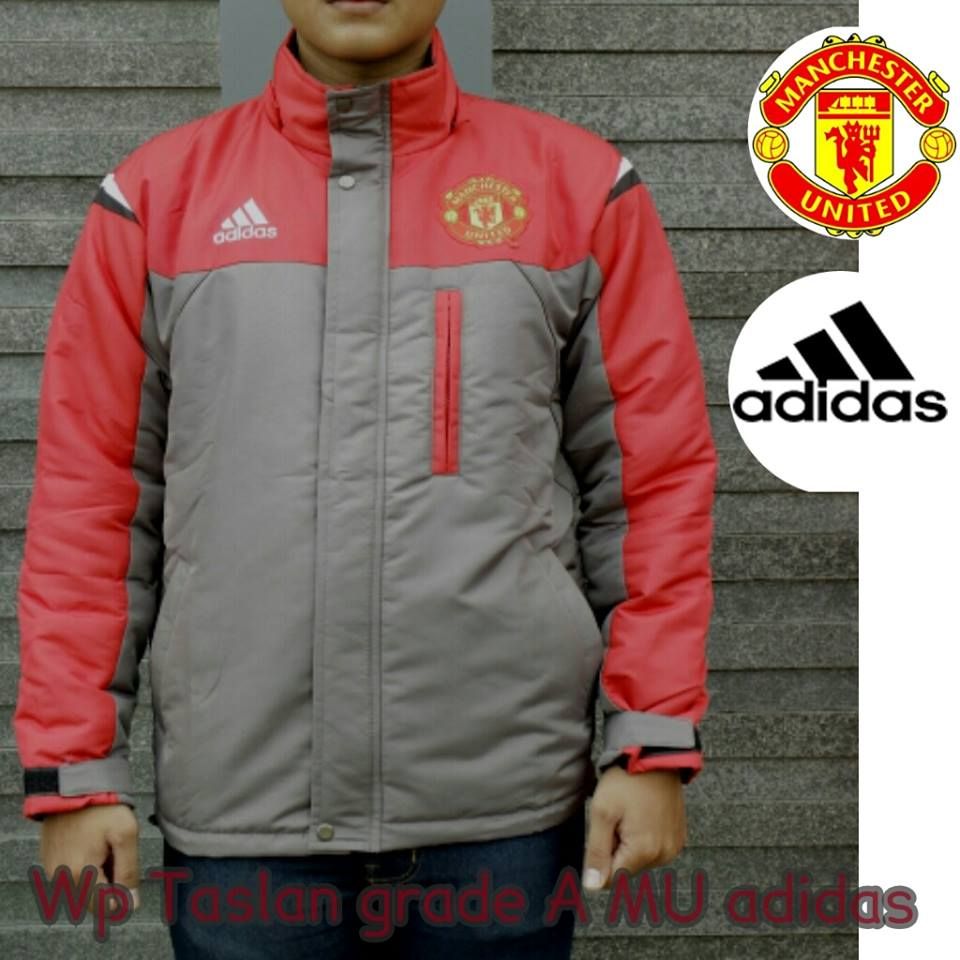 31e56d705b9 Jaket Hoo Adidas Zne Man United Mu Manchester