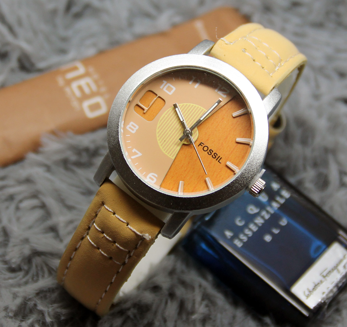 Fossil Es3616 Jam Tangan Wanita Leather Strap Brown Best Buy Indonesia Original Es4051 Tailor Indigo Dyed Jual Wood Mocca 01 Ghafur Arloji Tokopedia