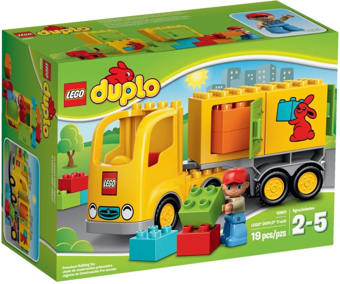 LEGO # 10601 DUPLO DELIVERY VEHICLE