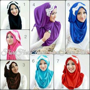 Hijab Instan Tiana Fiori Jilbab