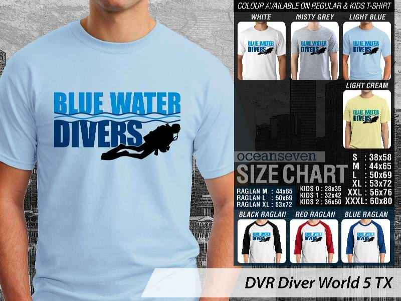 KAOS DISTRO OCEANSEVEN - BLUE WATER DIVERS