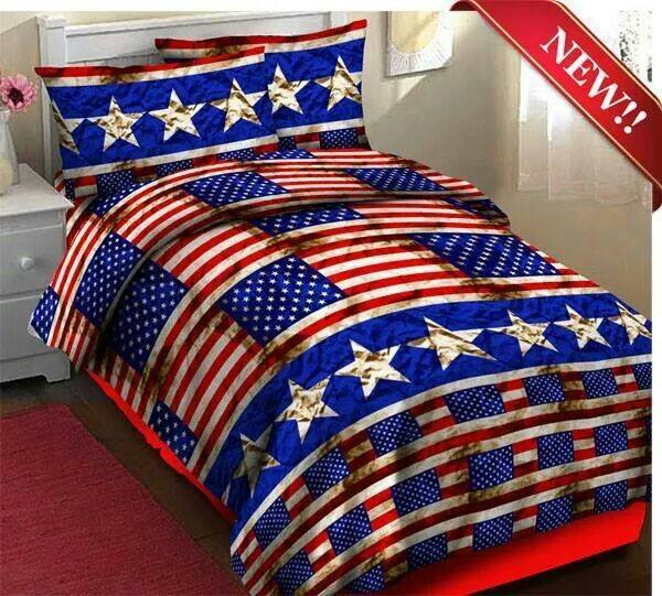 sprei usa flag