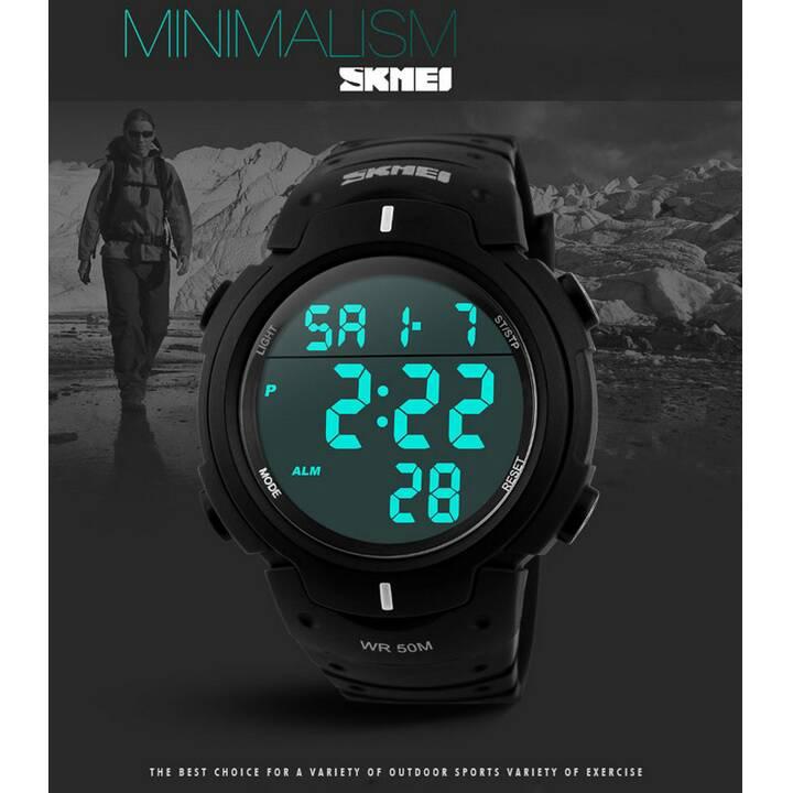 SKMEI Pioneer Sport Watch Water Resistant 50m - DG1068 -