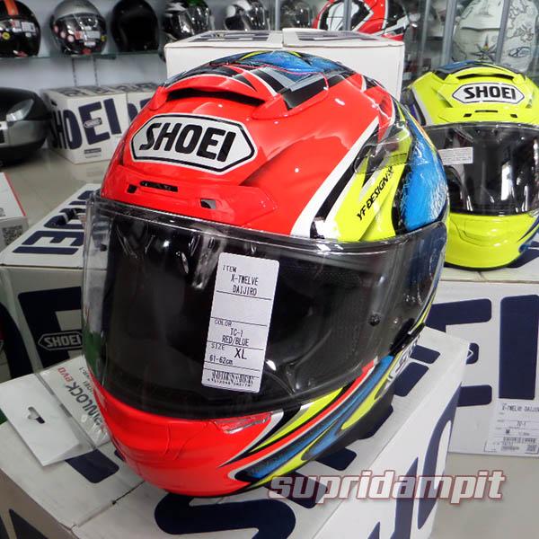 Helm Shoei X12 Daijiro Kato TC1 not Arai Nolan AGV HJC Shark KYT ink