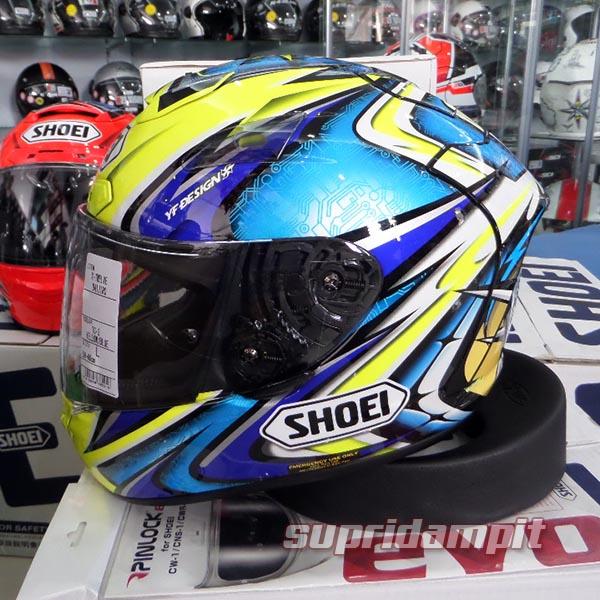 Helm Shoei X12 Daijiro Kato TC3 not Arai Nolan AGV HJC Shark KYT ink