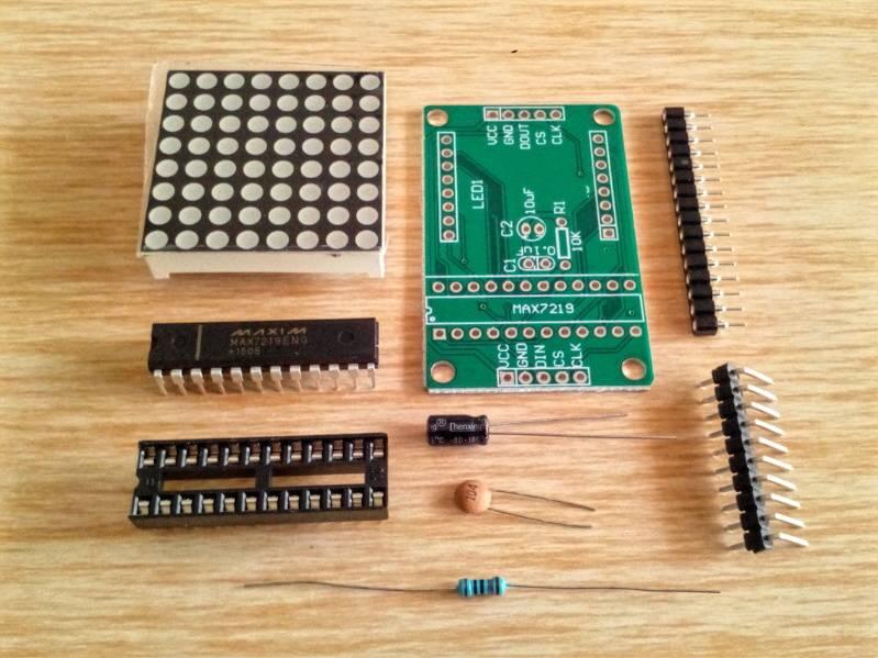 harga LED dot matrix 8x8 with MAX 7219 Arduino Tokopedia.com