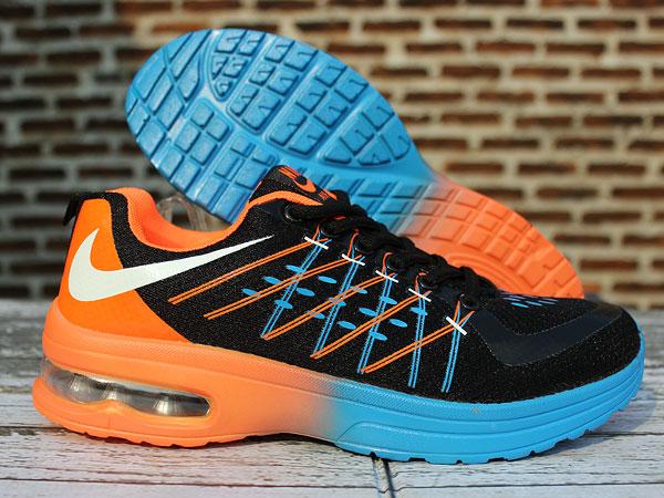 ... australia us sneaker shop 514d6 a7f68 sepatu running nike airmax flyknit women hitam biru jogging e404d