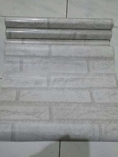jual wallpaper sticker bata putih - kota tangerang selatan - efron decor