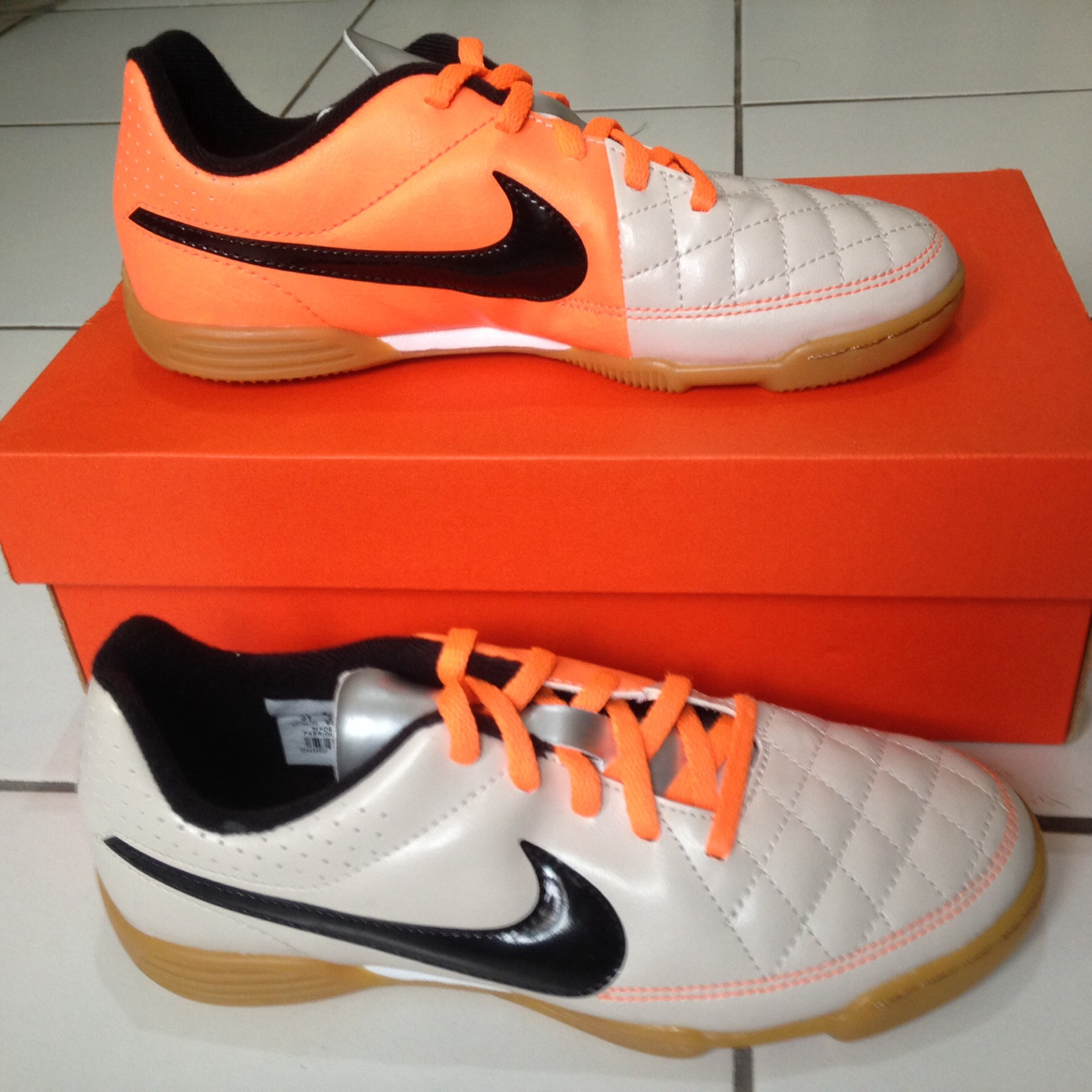Jual Nike JR Tiempo Rio II IC Size 355 Sepatu Futsal Anak
