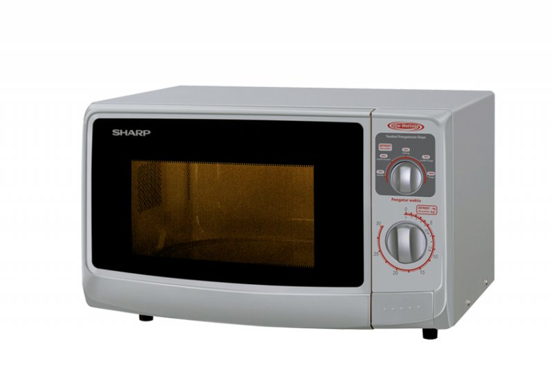 Microwave Sharp R-222Y - 22 L / LCD Display / Mechanical Timer / BNIB