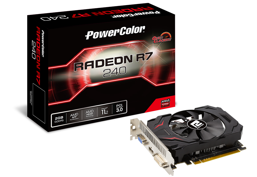 PowerColor R7 240 2GB DDR5 128BIT murah