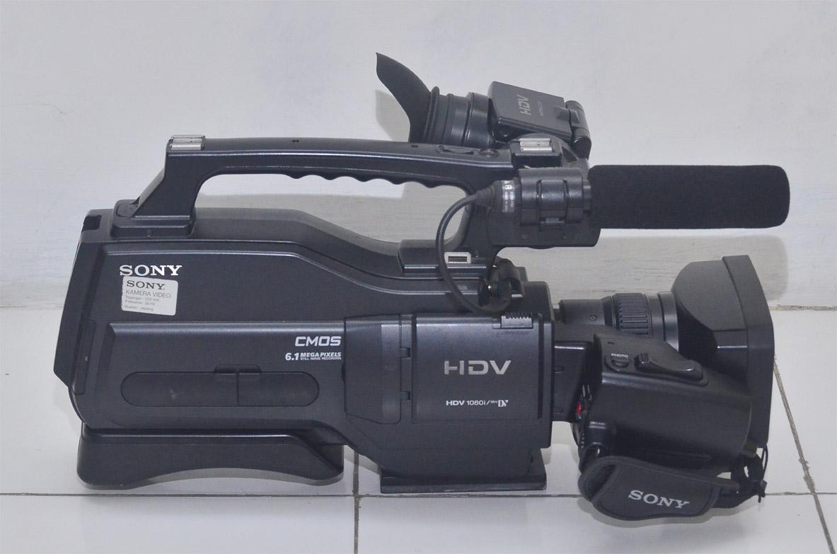 kamera sony hvr hd 1000p