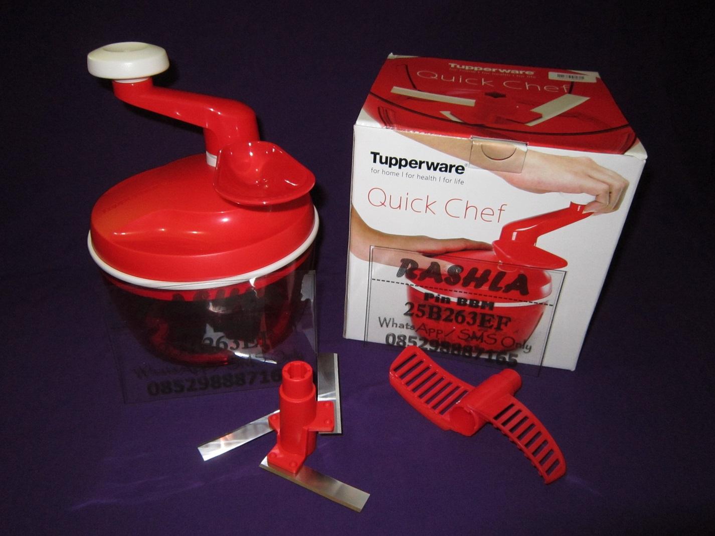 harga Quick Chef Tupperware Diskon (blender, pencacah, mixer tanpa listrik) Tokopedia.com