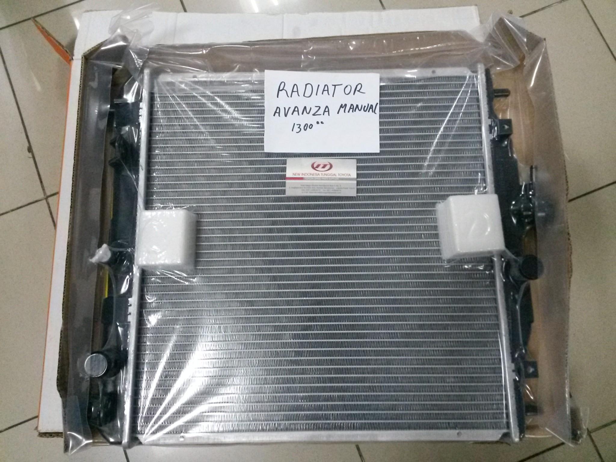 Jual Radiator Toyota Avanza 1500 Cc Radiator Avanza Veloz 10001382 Di Lapak Central Spare Parts Mobil Bukalapak