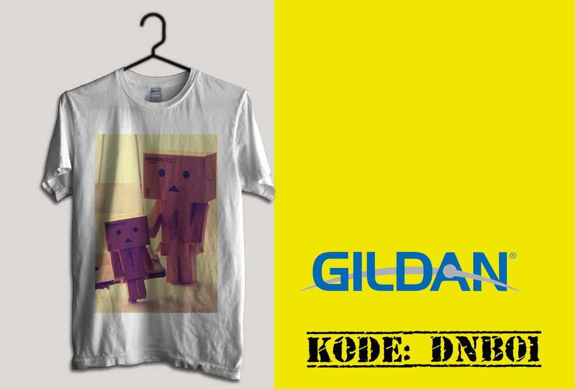 Kaos Gildan Softstyle - Kaos Boneka Danbo