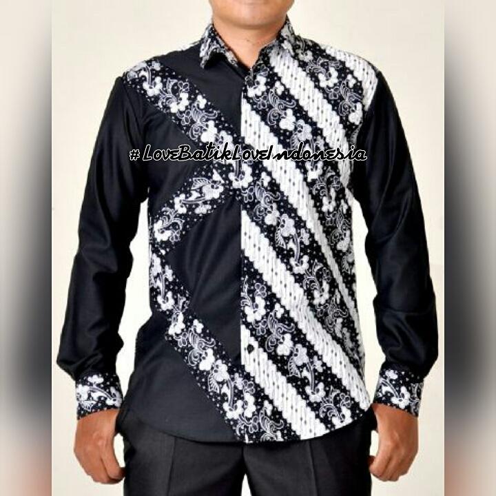 Jual Kemeja Batik Modifikasi  LoveBatikLoveIndonesia  Tokopedia
