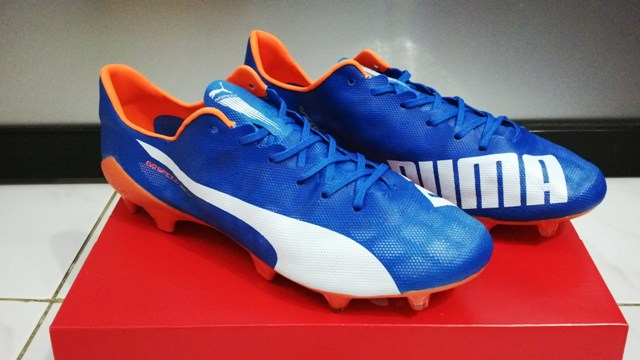 Jual Sepatu Bola Puma Evospeed SL Blue - Bobos Shop  a4686318e9
