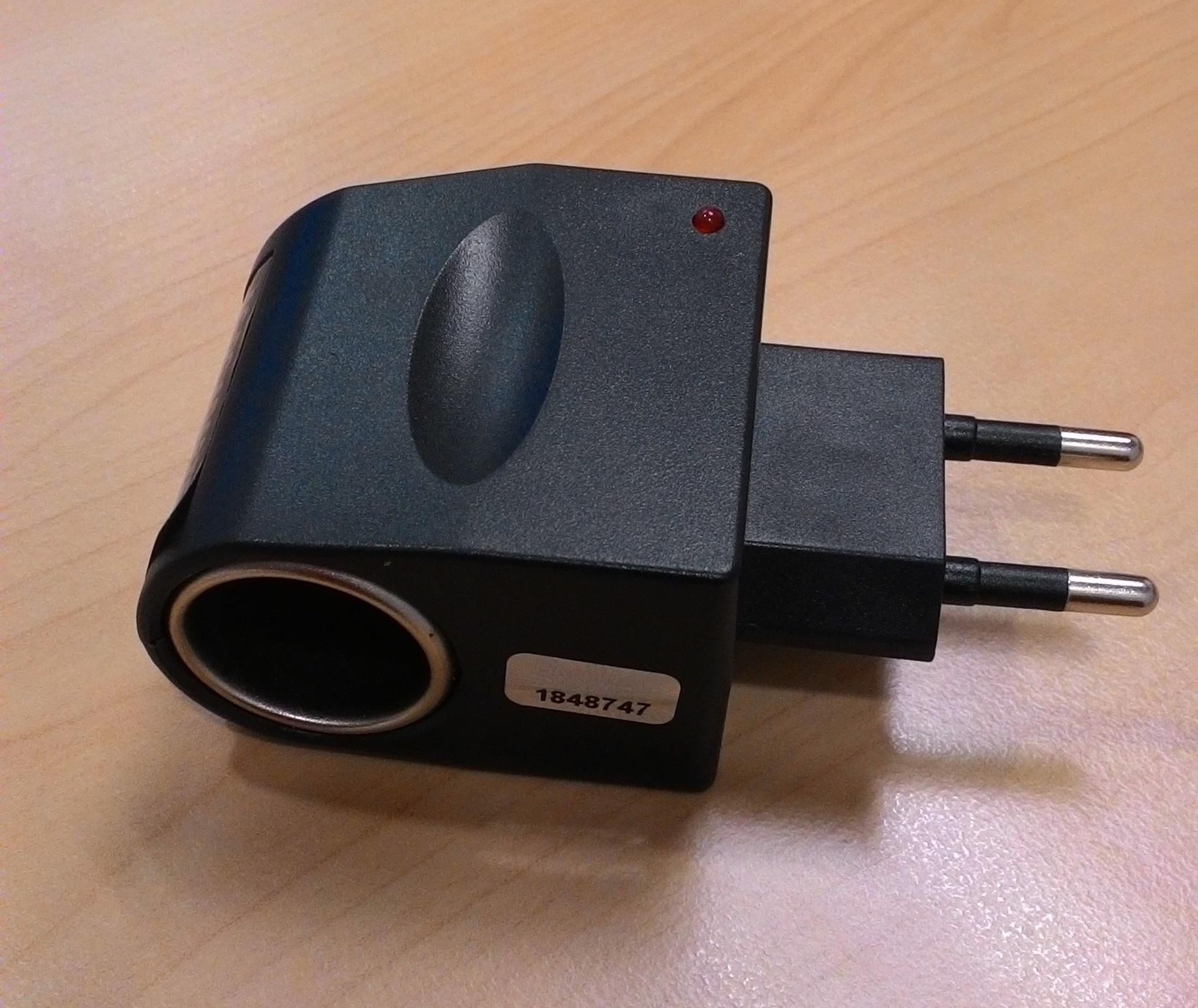Harga AC To DC Car Cigarette Lighter/ Accessories Socket Converter Plug 12V