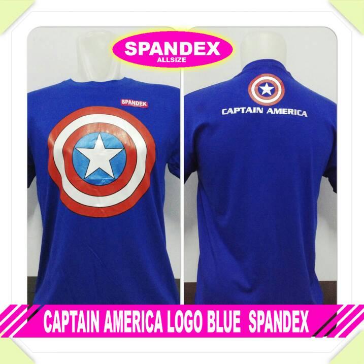Kaos distro captain america blue
