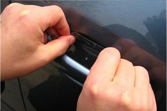 Harga Stiker Anti Gores Handle Pintu Mobil (isi 4 lembar)