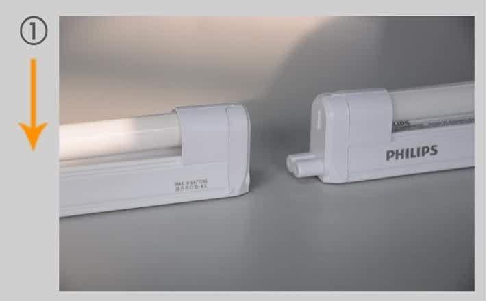 jual t5 led 13w trunkable linea philips philips lighting tokopedia. Black Bedroom Furniture Sets. Home Design Ideas