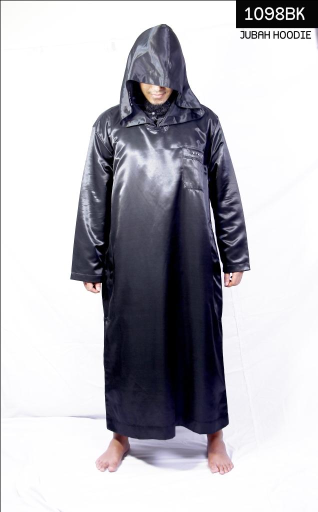 Jual Baju Muslim Pria Jubah Gamis Burnus Jubah Hoodie Ust