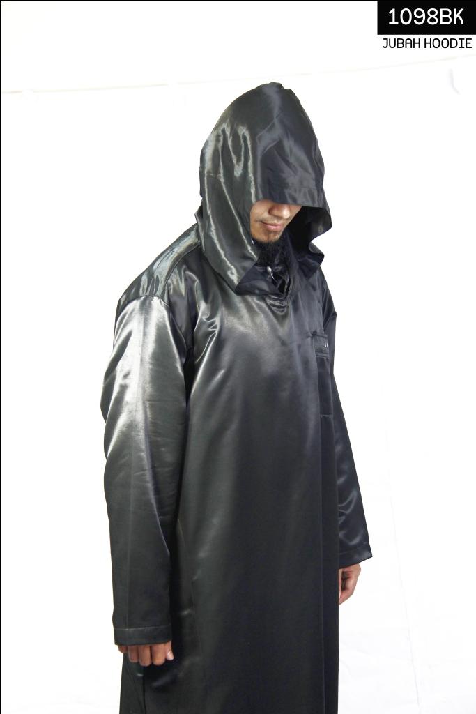 Jual baju muslim pria jubah gamis burnus jubah hoodie ust Jual baju gamis untuk pria