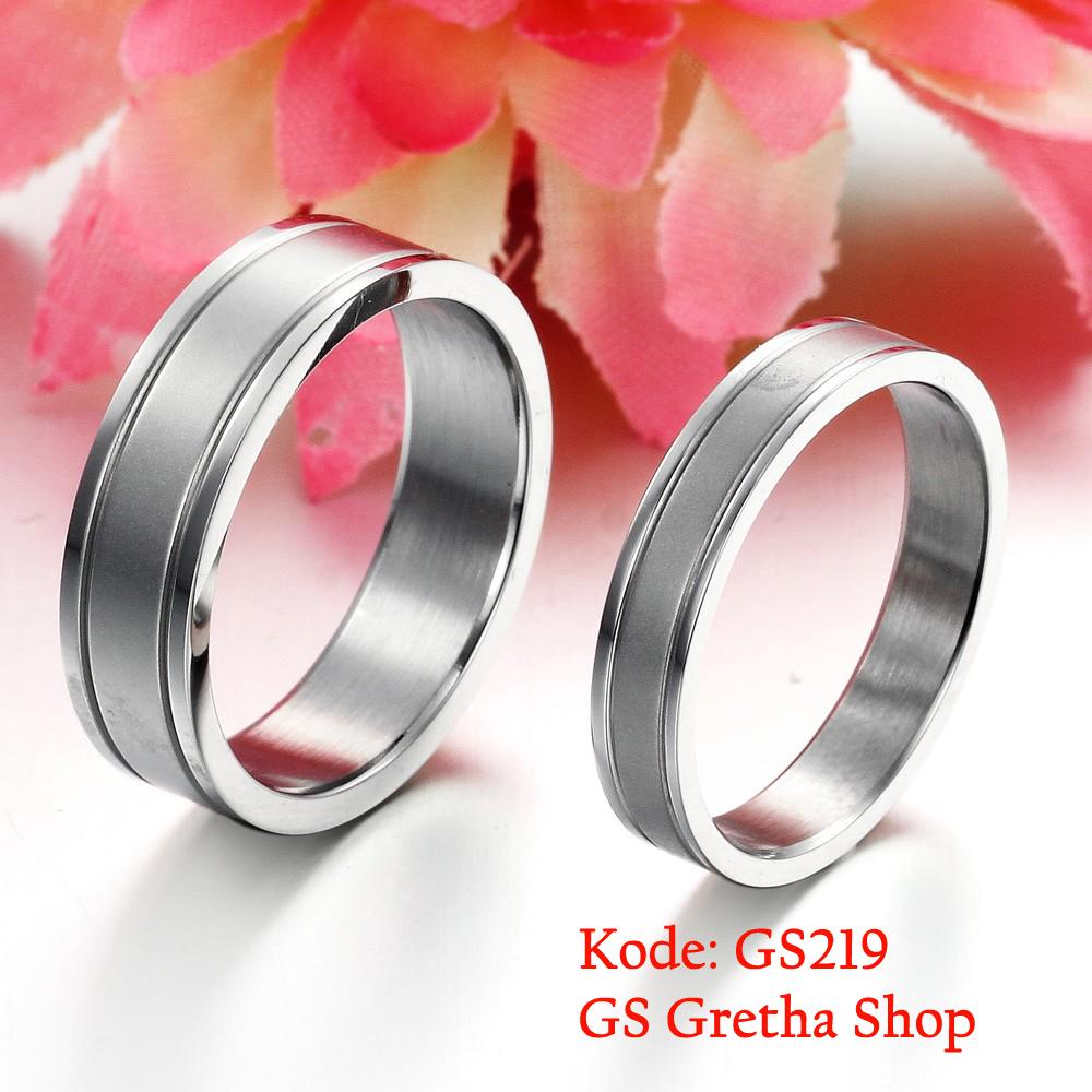 Jual Cincin Couple Titanium Cincin Nikah Tunangan dan Fashion TOKO FASHION MEDAN Tokopedia .