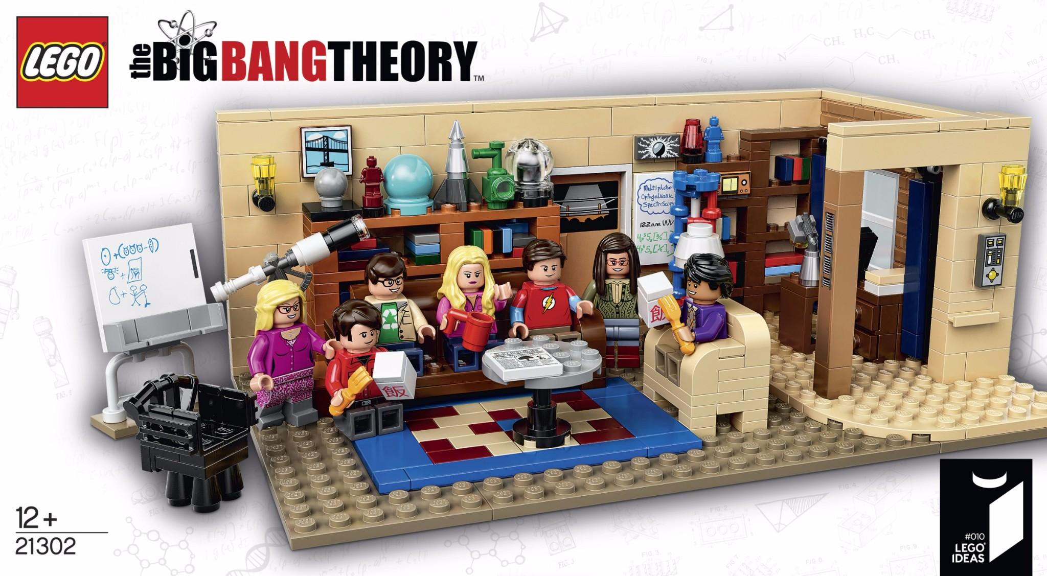 LEGO # 21302 IDEAS THE BIG BANG THEORY