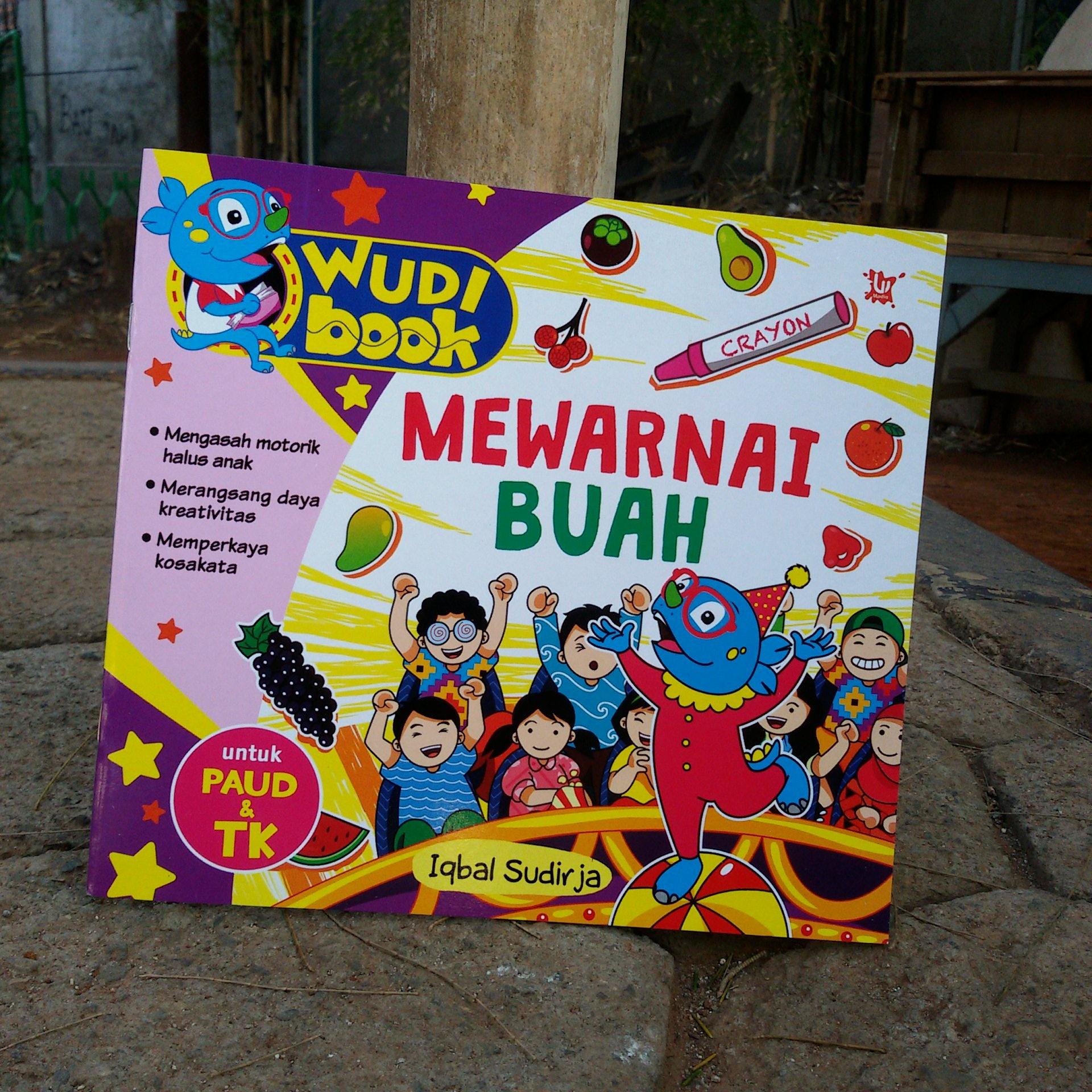 Jual Buku Aktivitas Keterampilan Anak Mewarnai Buah Buahan Paud Tk