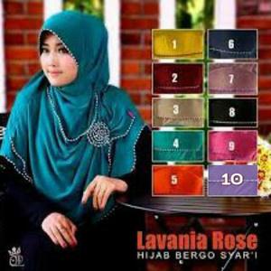 Hijab/Jilbab Syar'i Lavania Rose