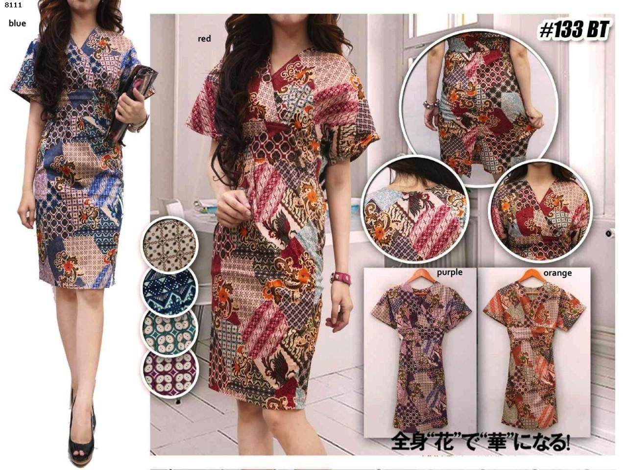 Harga Model Baju Batik Online Shop Murah Batik Dress Id