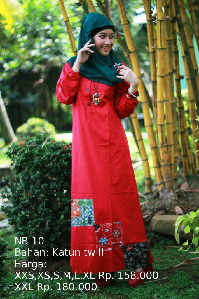 Jual Gamis Model Nb 10 Nibras Maizan Busana Tokopedia
