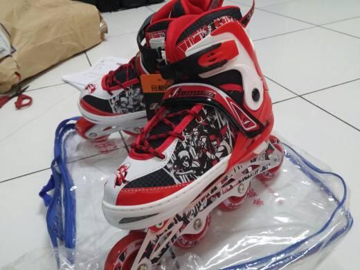 Jual Sepatu Roda Karet Banwei Inline Skate Harga Murah M L