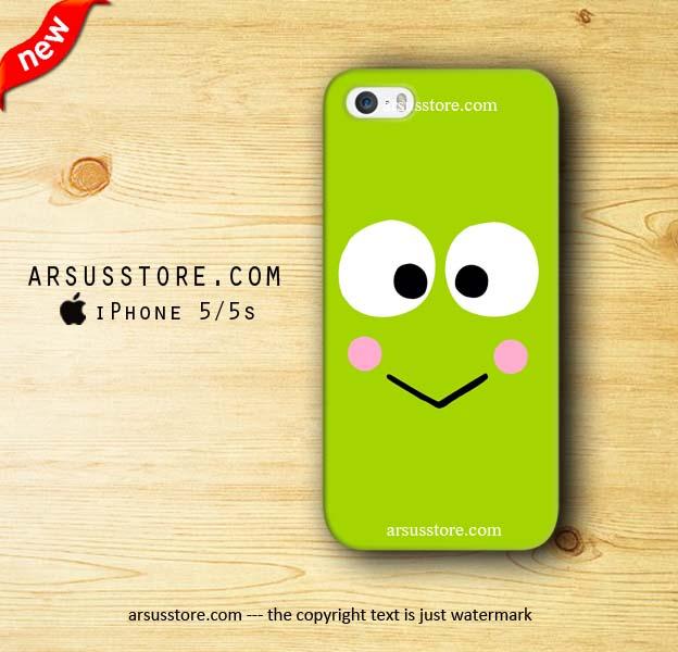 harga Keroppi Face Kartun Katak iPhone Case, 5 5s 5c 4 4s 6 6 Plus Tokopedia.com