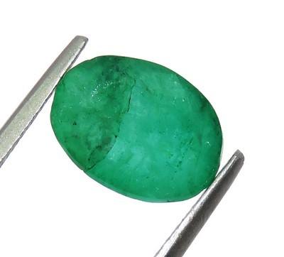harga (RR-17) Natural Emerald/Zamrud/Jamrud COLOMBIA 3.30 CT + Sertifikat Tokopedia.com