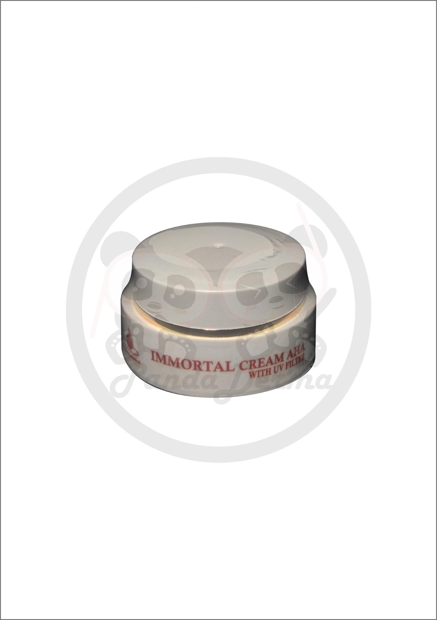 Jual Immortal Cream AHA With UV Filter Tabir Surya Anti