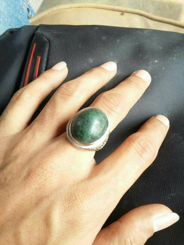 harga cincin batu akik hijau lumut aceh Tokopedia.com